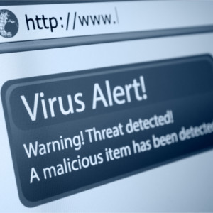 Virus alert - cyber security - corinium technology
